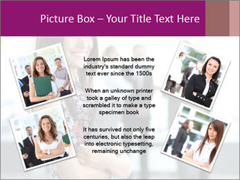 Smiling Office Manager PowerPoint Templates - Slide 24