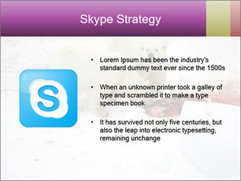 White Bears Hunting PowerPoint Templates - Slide 8