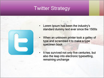 White Bears Hunting PowerPoint Templates - Slide 9