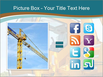 Yellow Crane PowerPoint Templates - Slide 21