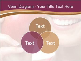 Smiling Woman And Red Apple PowerPoint Templates - Slide 33