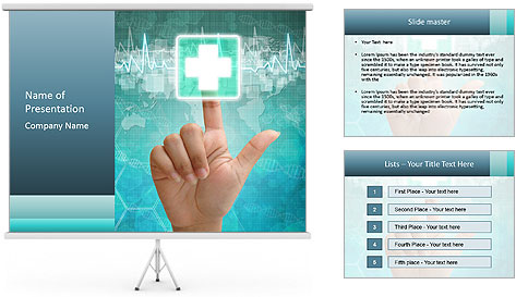 Emergency Button PowerPoint Template