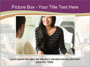 Woman Working In Coffeehouse PowerPoint Template - Slide 16