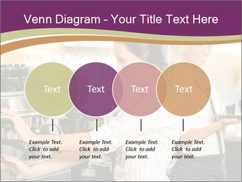 Woman Working In Coffeehouse PowerPoint Templates - Slide 32