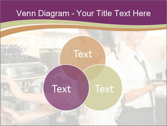 Woman Working In Coffeehouse PowerPoint Template - Slide 33