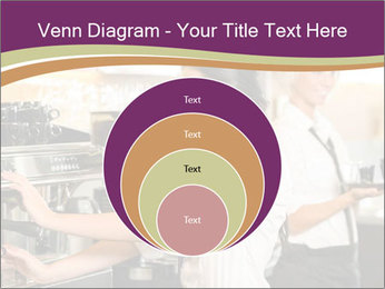 Woman Working In Coffeehouse PowerPoint Templates - Slide 34
