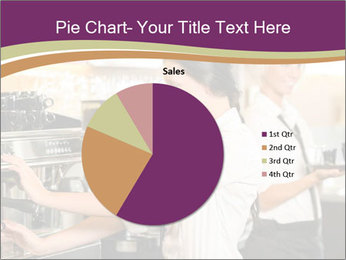 Woman Working In Coffeehouse PowerPoint Templates - Slide 36