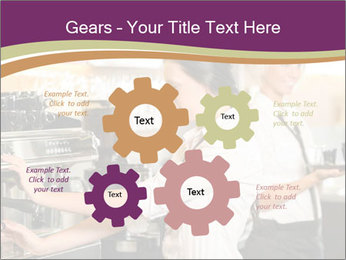 Woman Working In Coffeehouse PowerPoint Templates - Slide 47