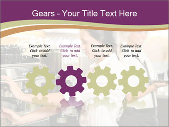 Woman Working In Coffeehouse PowerPoint Templates - Slide 48
