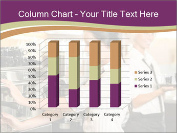 Woman Working In Coffeehouse PowerPoint Templates - Slide 50