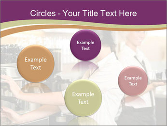 Woman Working In Coffeehouse PowerPoint Templates - Slide 77