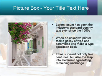 Cafe With Sea View PowerPoint Templates - Slide 13