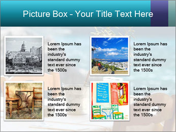 Cafe With Sea View PowerPoint Templates - Slide 14
