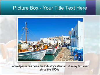 Cafe With Sea View PowerPoint Templates - Slide 15