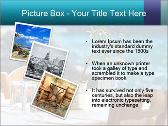 Cafe With Sea View PowerPoint Templates - Slide 17