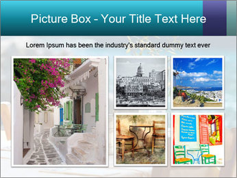 Cafe With Sea View PowerPoint Templates - Slide 19