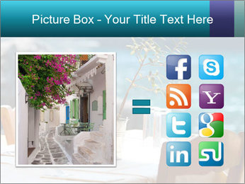 Cafe With Sea View PowerPoint Templates - Slide 21