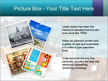 Cafe With Sea View PowerPoint Templates - Slide 23