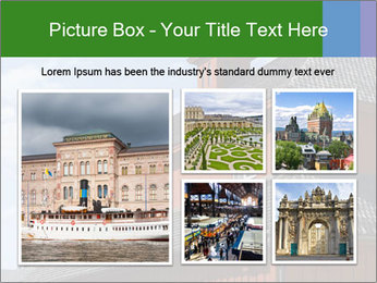 Museum Building PowerPoint Templates - Slide 19