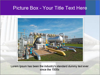 White Pipes PowerPoint Template - Slide 15