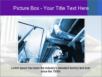 White Pipes PowerPoint Template - Slide 16