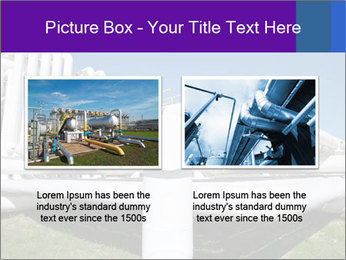 White Pipes PowerPoint Template - Slide 18