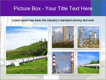 White Pipes PowerPoint Templates - Slide 19