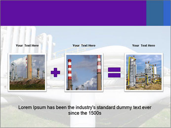 White Pipes PowerPoint Template - Slide 22