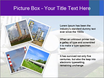 White Pipes PowerPoint Template - Slide 23