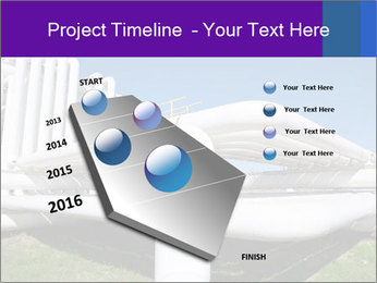 White Pipes PowerPoint Template - Slide 26