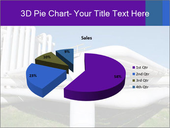 White Pipes PowerPoint Template - Slide 35