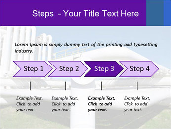 White Pipes PowerPoint Template - Slide 4