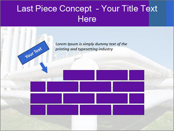 White Pipes PowerPoint Template - Slide 46