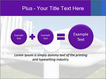 White Pipes PowerPoint Template - Slide 75
