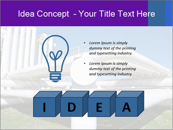 White Pipes PowerPoint Template - Slide 80