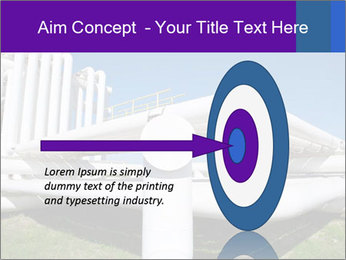 White Pipes PowerPoint Template - Slide 83