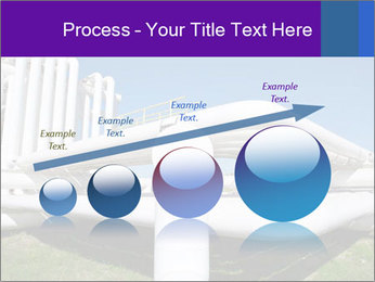 White Pipes PowerPoint Template - Slide 87