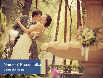 Beautiful Love Story PowerPoint Template - Slide 1