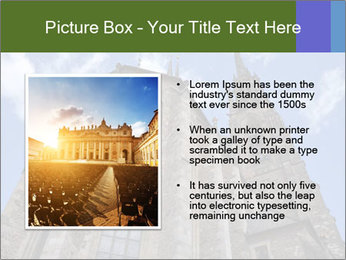 Blue Sky And Church PowerPoint Template - Slide 13