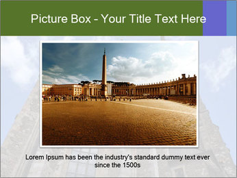 Blue Sky And Church PowerPoint Template - Slide 15