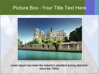 Blue Sky And Church PowerPoint Template - Slide 16