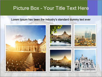 Blue Sky And Church PowerPoint Template - Slide 19