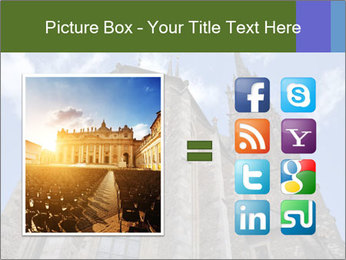 Blue Sky And Church PowerPoint Template - Slide 21