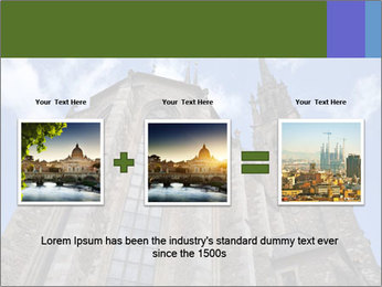 Blue Sky And Church PowerPoint Template - Slide 22