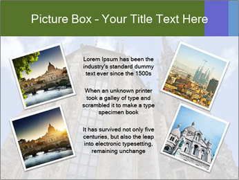 Blue Sky And Church PowerPoint Template - Slide 24
