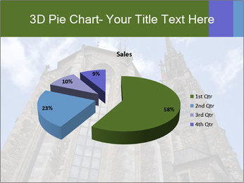 Blue Sky And Church PowerPoint Template - Slide 35