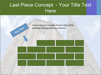Blue Sky And Church PowerPoint Template - Slide 46