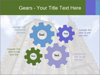 Blue Sky And Church PowerPoint Template - Slide 47