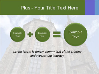 Blue Sky And Church PowerPoint Template - Slide 75