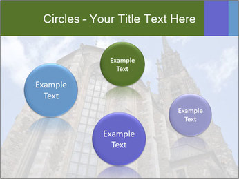 Blue Sky And Church PowerPoint Template - Slide 77
